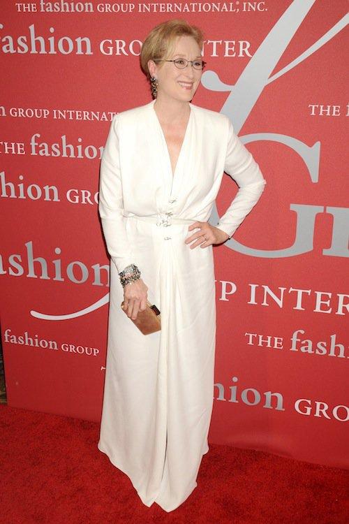 Meryl Streep à la soirée Night of Stars Gala, à New York, le 22 octobre 2015