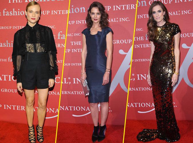 Photos : Diane Kruger, Katie Holmes, Allison Williams : trio glamour pour les Night of Stars Gala !