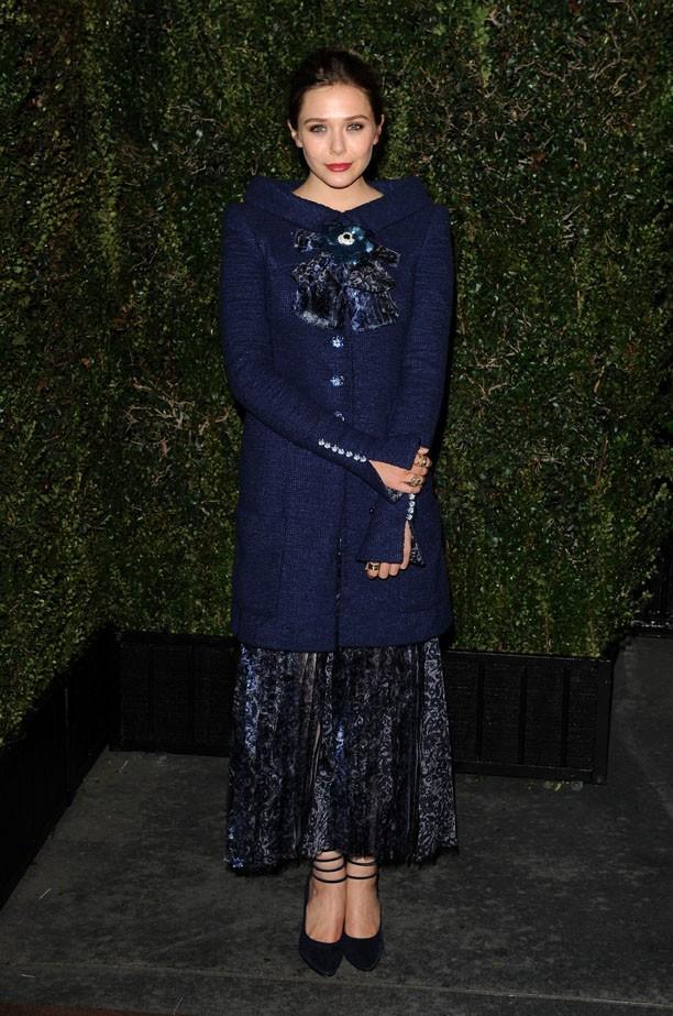 Elizabeth Olsen, le look râté de la soirée ?