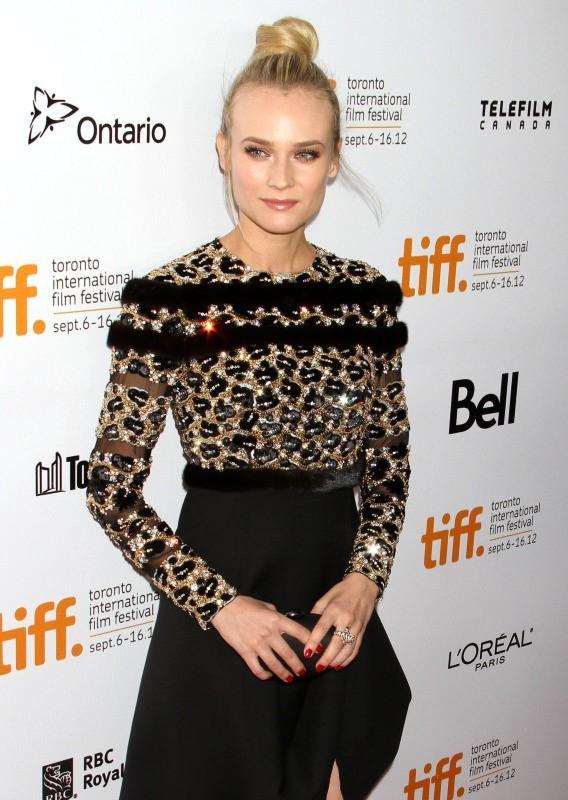 Diane Kruger lors du Festival International du Film de Toronto, le 11 septembre 2012.