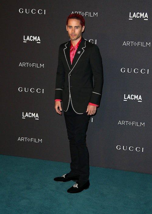 Jared Leto au gala LACMA, à Los Angeles, le 7 novembre 2015 !