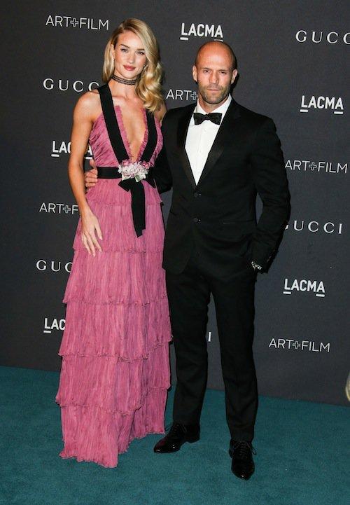 Rosie Huntington-Whiteley et Jason Statham au gala LACMA, à Los Angeles, le 7 novembre 2015 !