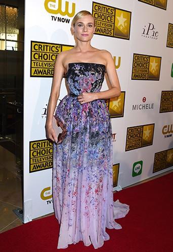 Diane Kruger à Los Angeles le 19 juin 2014
