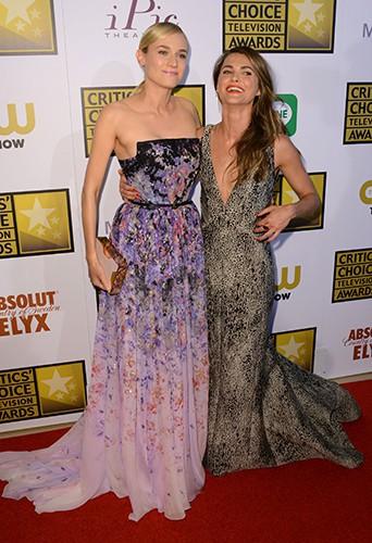 Diane Kruger et Keri Russell à Los Angeles le 19 juin 2014