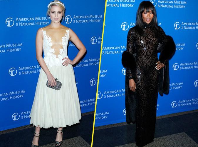 Dianna Agron et Naomi Campbell à New York le 20 novembre 2014
