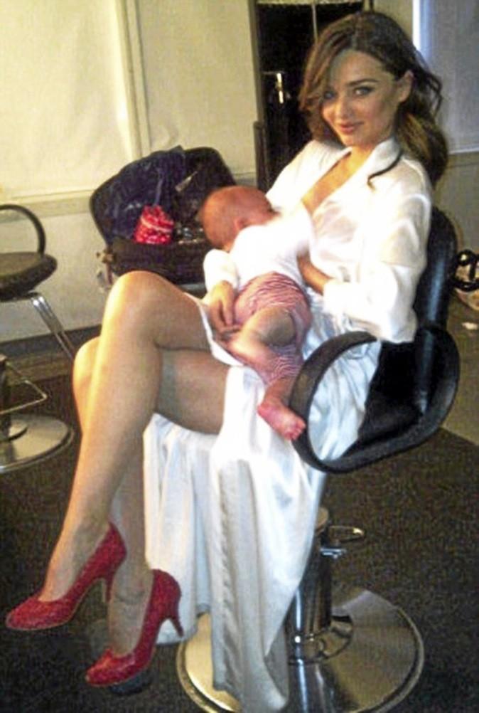 Miranda Kerr : ses followers boivent du p'tit lait !