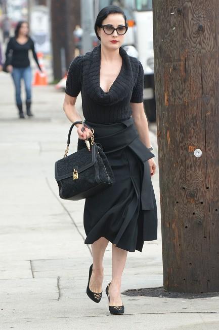 Dita Von Teese le 15 novembre 2012 à Los Angeles