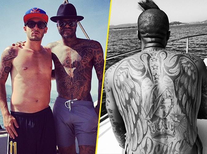 Photos : Djibril Cissé : loin des clashes, le footballeur prend du bon temps en Méditerranée !