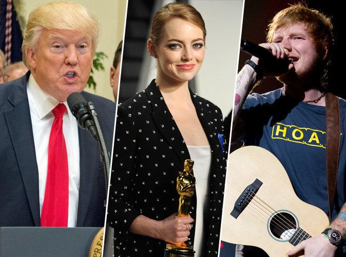 Donald Trump, Emma Stone, Ed Sheeran... les 100 personnalités les plus influentes selon Time magazine