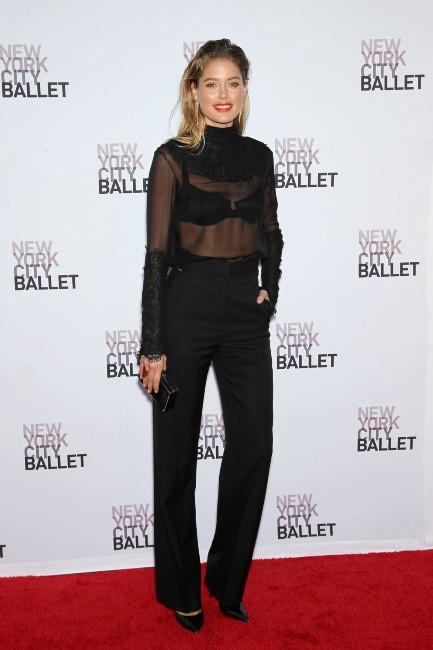 Doutzen Kroes lors du gala du New York City Ballet, le 19 septembre 2013.