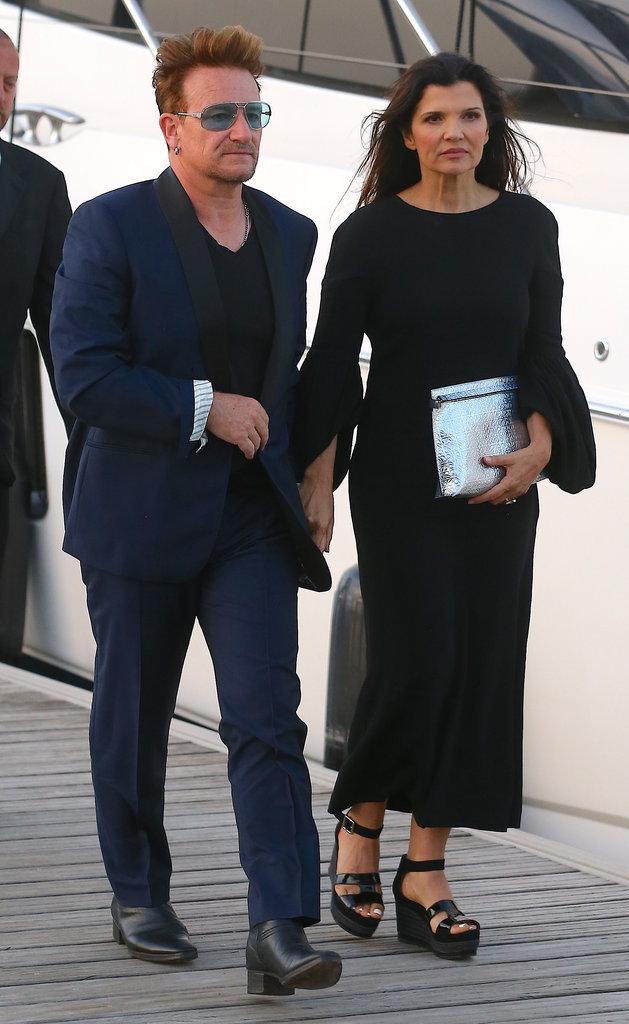 Bono à la soirée Leonardo Dicaprio