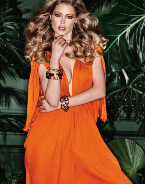 Photos : Doutzen Kroes fête son dixième anniversaire chez L'Oréal Paris !