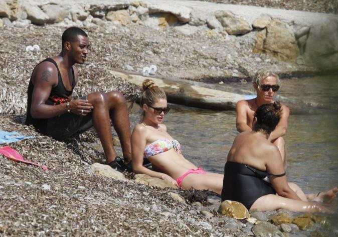 Doutzen Kroes en vacances à Ibiza le 5 août 2013