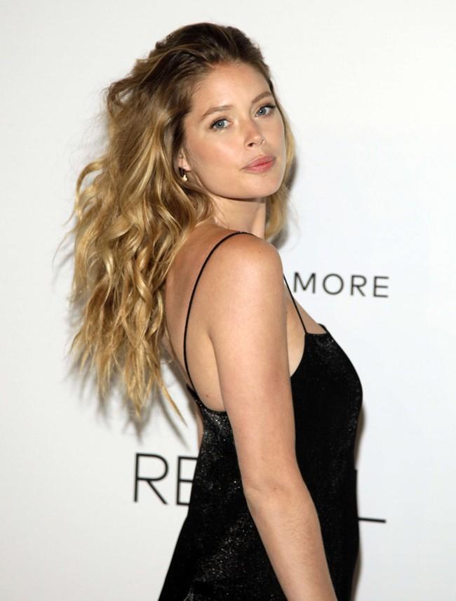 Doutzen Kroes à la soirée Calvin Klein organiséee à New-York le 8 septembre 2014