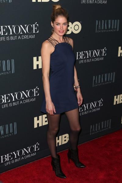 Doutzen Kroes le 12 février 2013 à New York