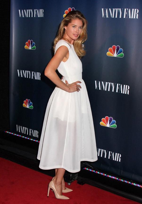 Doutzen Kroes à la soirée NBC et Vanity Fair organisée à New-York le 16 septembre 2013