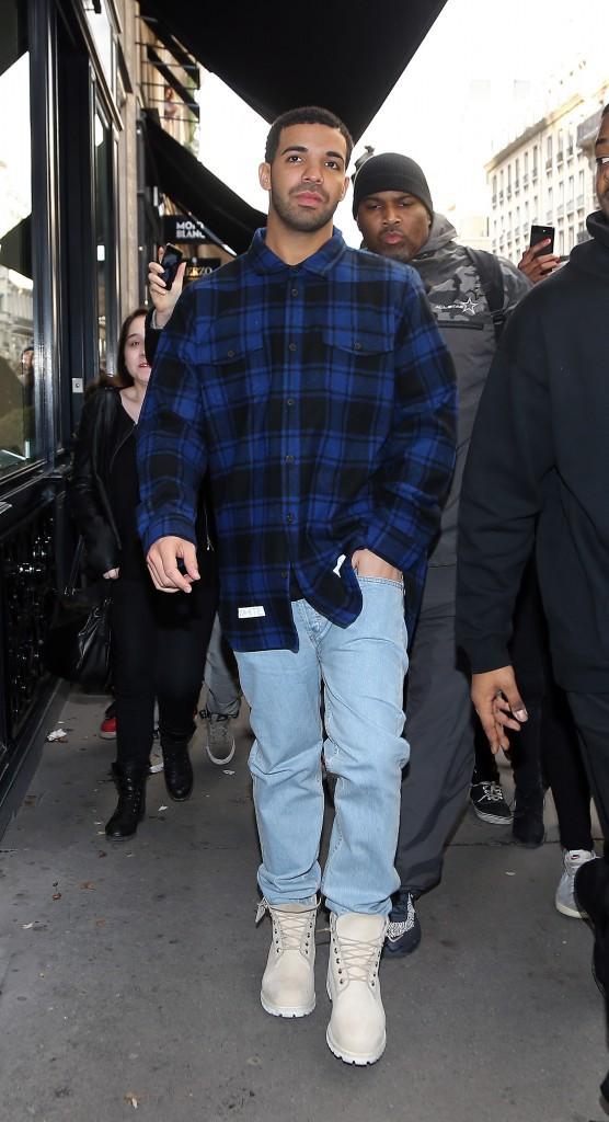 Drake hier à Paris