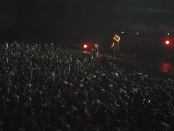 Drake en concert à Paris Bercy, le 5 avril 2012.