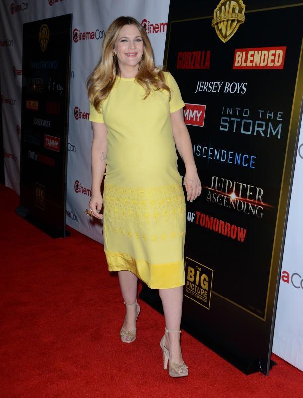 Drew Barrymore lors du CinemaCon à Las Vegas, le 27 mars 2014.
