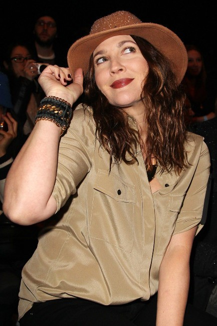 Drew Barrymore, New York, 8 février 2013.