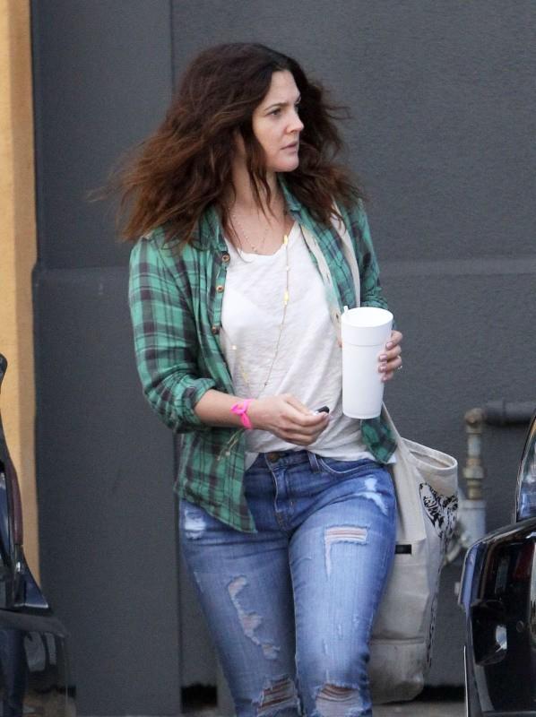 Drew Barrymore le 21 février 2013 à Santa Monica