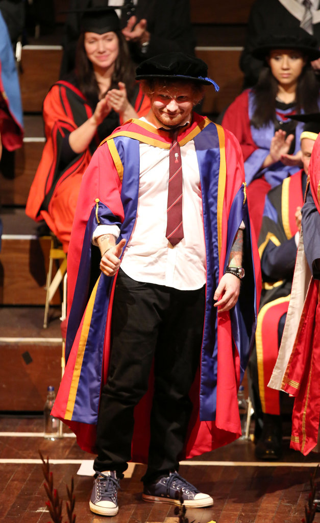 """Ed Sheeran : Désormais, appelez-le """"docteur"""" !"""
