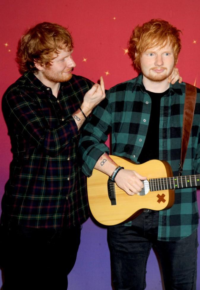 Ed Sheeran et sa statue