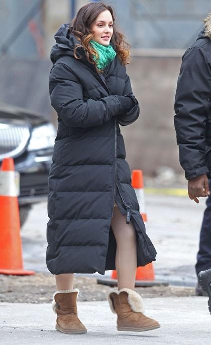 Leighton tout sauf glamour comme ça !