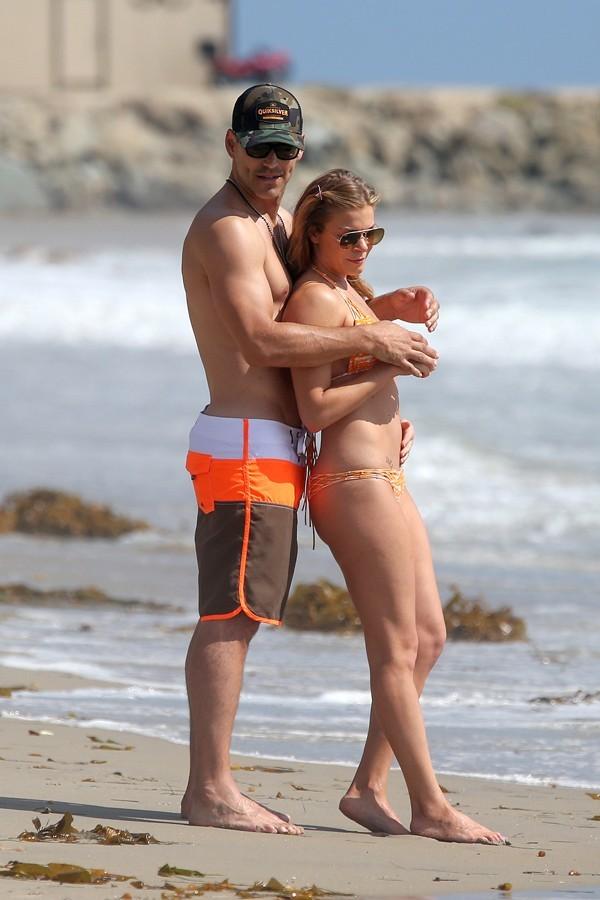 Eddie Cibrian et LeAnn Rimes à Los Angeles le 18 juin 2013