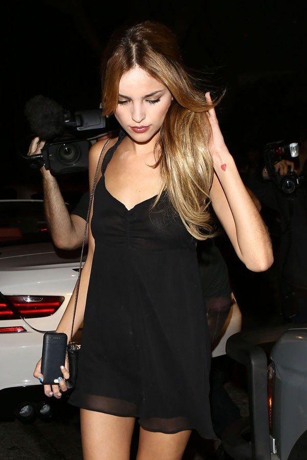Eiza Gonzalez, la nouvelle girlfriend de Liam Hemsworth, à West Hollywood le 3 octobre 2013