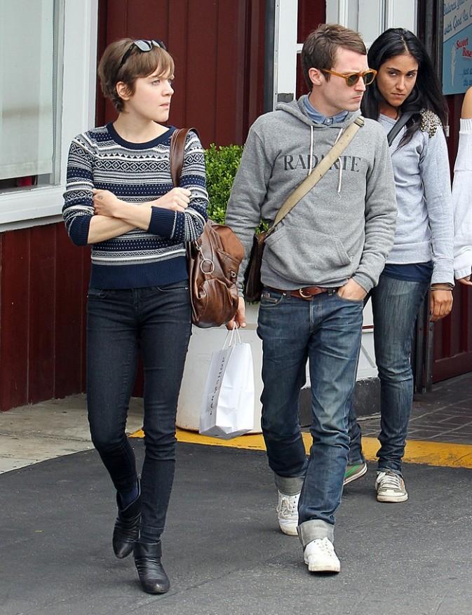 L'acteur Elijah Wood dans les rues de LA