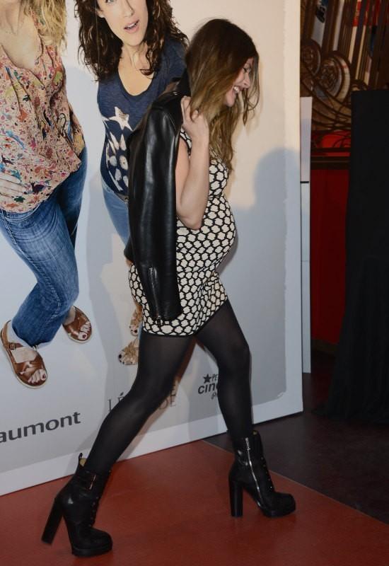 Elisa Sednaoui lors de l'avant-première du film Les Gamins à Paris, le 15 avril 2013.