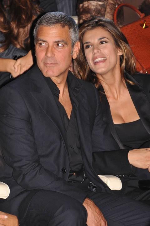 De tous les évènements glamour, ici pour un défilé Giorgio Armani