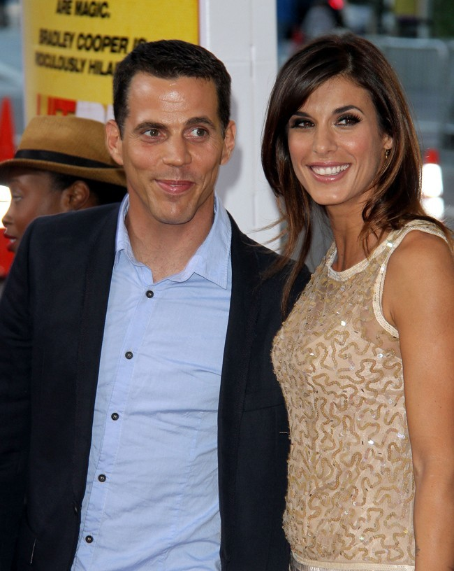 Elisabetta Canalis et Steve O le 14 août 2012 à Los Angeles