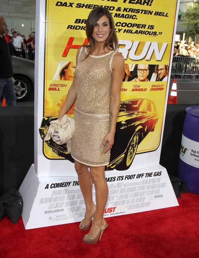 Elisabetta Canalis le 14 août 2012 à Los Angeles