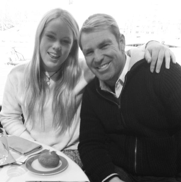 Shane et sa fille Brooke