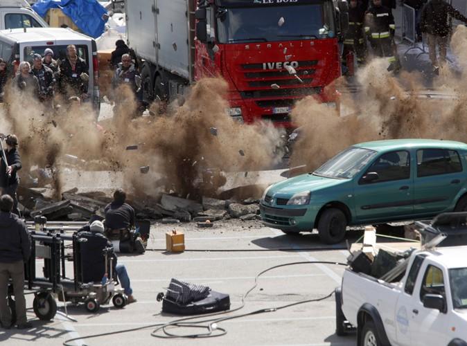 Le tournage d'Avengers 2 en Italie le 24 mars 2014