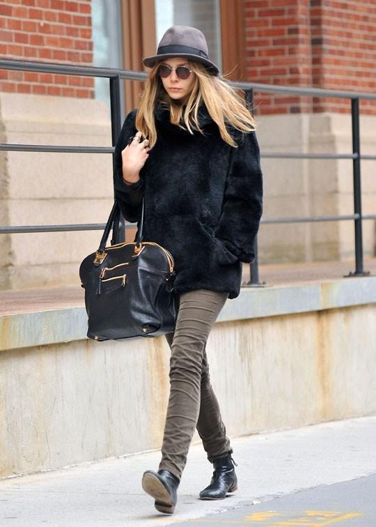 Aussi fashion que ses célèbres soeurs ?