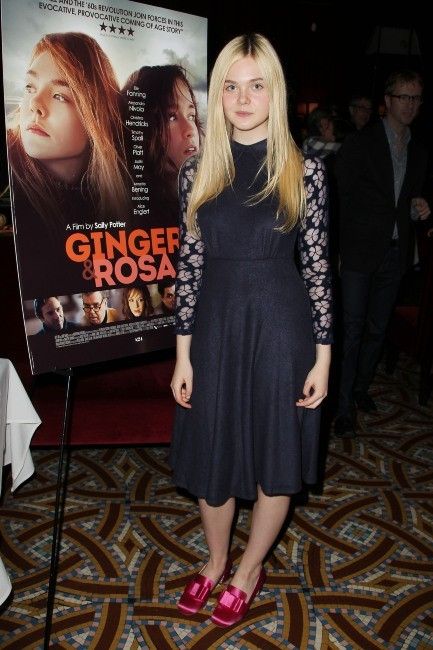 Elle Fanning le 11 novembre 2012 à New York