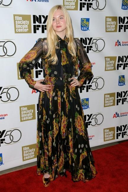 Elle Fanning le 9 octobre 2012 à New York