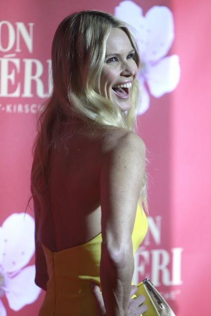 """Elle Macpherson lors de la soirée """"Mon Cherie Barbara Day 2012 charity gala"""" à Munich, le 4 décembre 2012."""