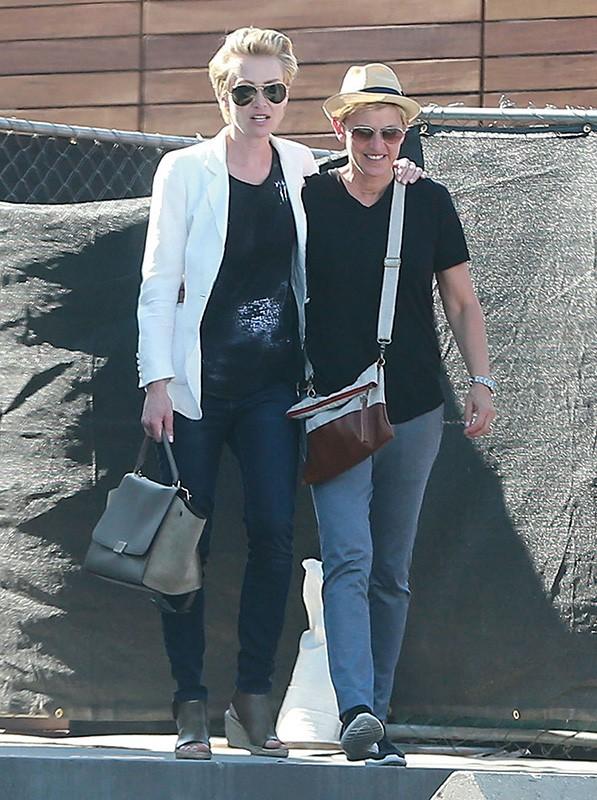 Photos : Ellen DeGeneres et Portia de Rossi : loin des rumeurs de rupture, elles songent surtout à agrandir la famille !