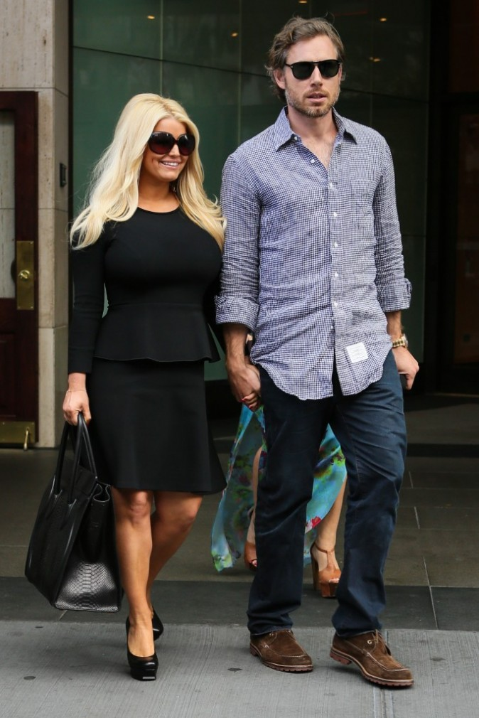Jessica Simpson et Eric Johnson