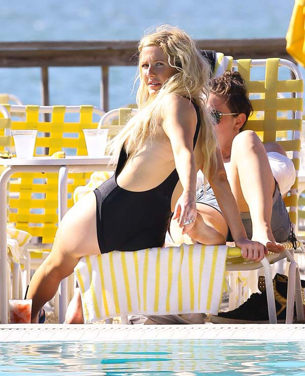 Ellie Goulding à Miami le 5 mai 2014