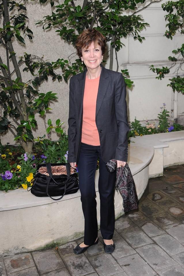 Catherine Laborde lors de la conférence de presse de La Flamme Marie-Claire à Paris, le 02 mai 2011.