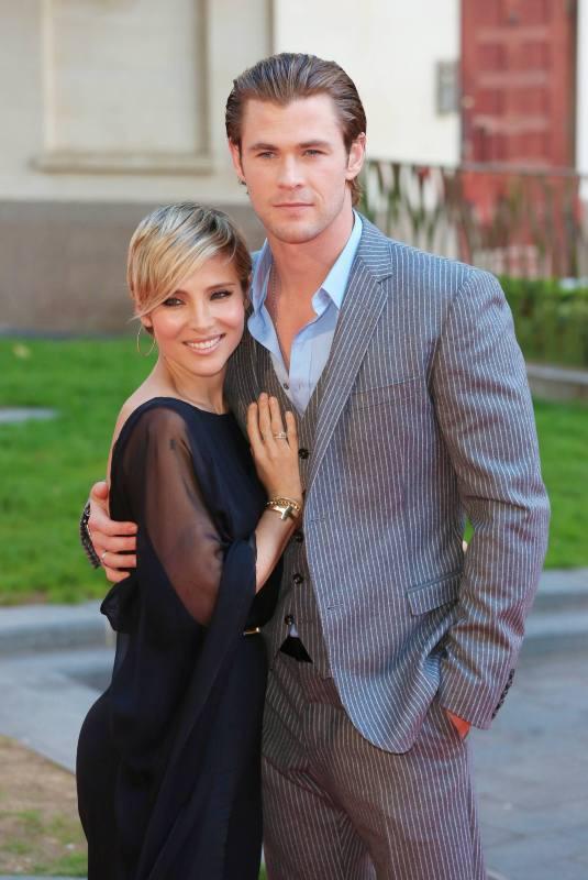 Elsa Pataky et Chris Hemsworth.