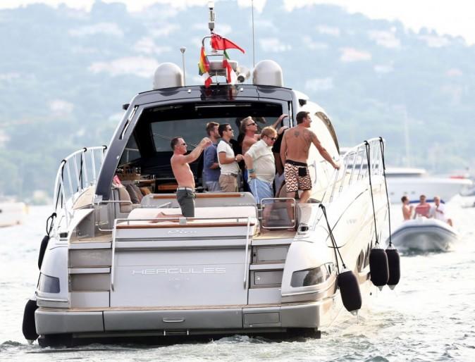 Elton John en vacances à St Tropez