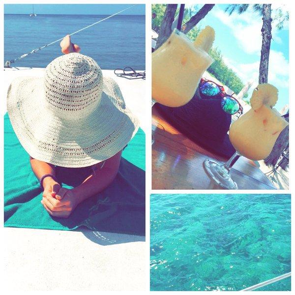 Photos : Emilie Fiorelli (SS9) : bikini et gros décolleté !