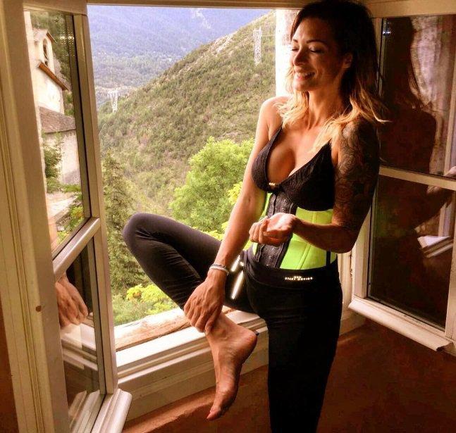 Emilie Nef Naf entretient son corps