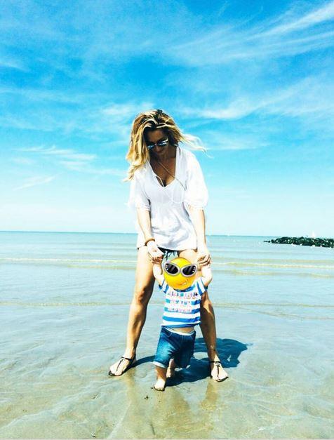 Emilie Nef Naf et son fils Menzo